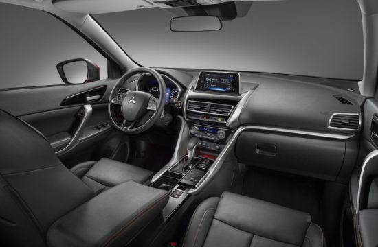 18MY Eclipse Crossover First Edition Main Dash Interior 550x360 at Mitsubishi Eclipse Cross Priced from £21,275 in UK