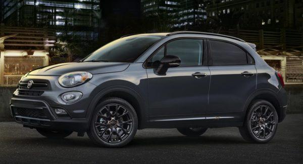 2017 Fiat 500X Urbana 1 600x326 at 2017 Fiat 500X Urbana Edition Announced