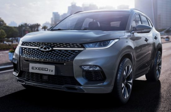 2018 Chery Exeed TX 0 550x360 at 2018 Chery Exeed TX Crossover Officially Introduced