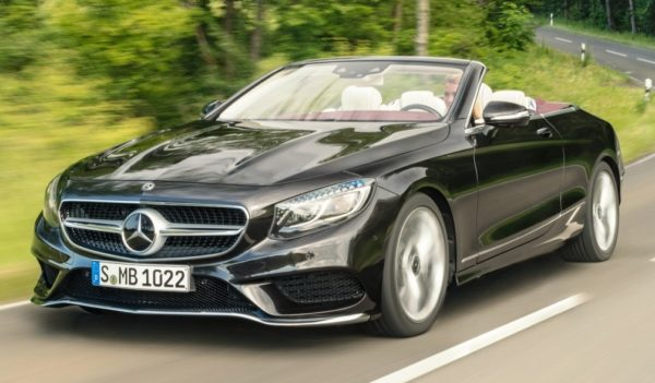2018 Mercedes S Class Coupe and Cabrio 0 600x351 at 2018 Mercedes S Class Coupe and Cabrio Go Official