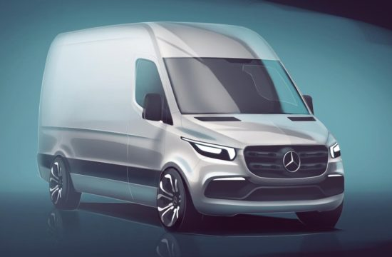 2018 Mercedes Sprinter Preview 550x360 at 2018 Mercedes Sprinter Previewed at North American Commercial Vehicle Show