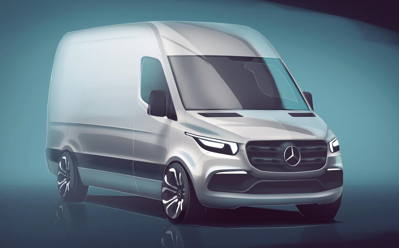 2018 Mercedes Sprinter Previewed at North American Commercial Vehicle Show