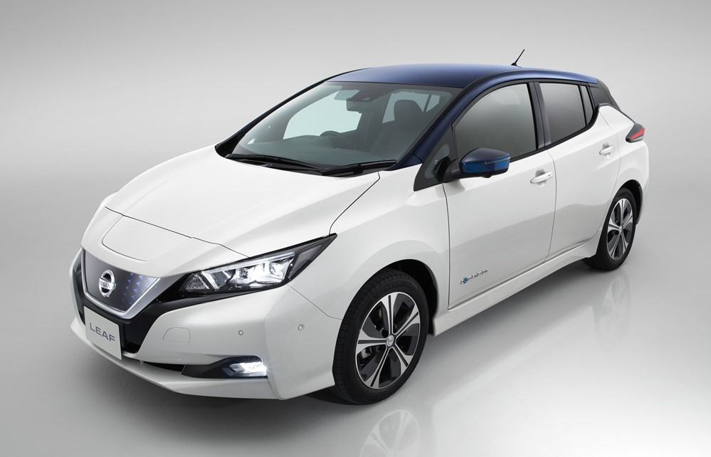 2018 nissan leaf uk pricing announced. Black Bedroom Furniture Sets. Home Design Ideas