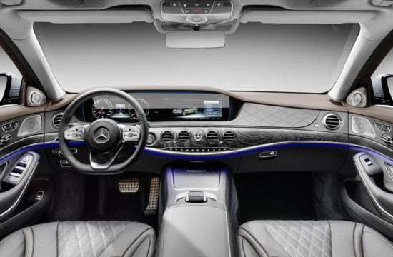2019 Mercedes Benz S560e 00 550x360 at 2019 Mercedes Benz S560e Plug In Hybrid Announced