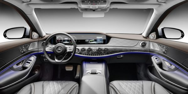 2019 Mercedes Benz S560e 00 600x300 at 2019 Mercedes Benz S560e Plug In Hybrid Announced