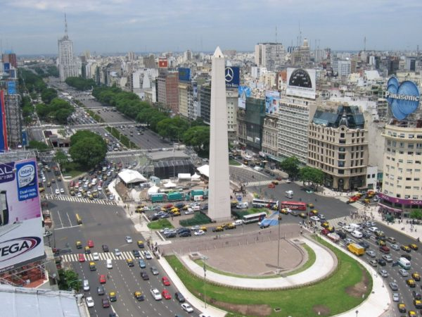 9 julio avenue buenos aires argentina 600x450 at 9 Fascinating Road Junctions Across the World
