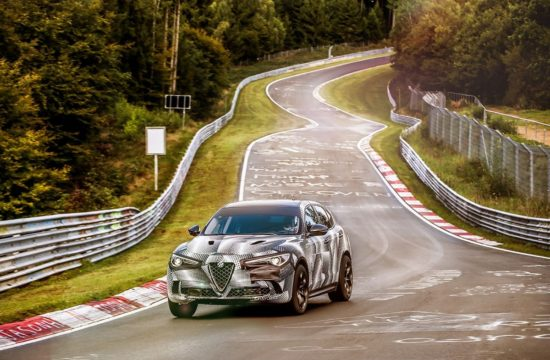 Alfa Romeo Stelvio QV Sets Nurburgring Record 1 550x360 at Alfa Romeo Stelvio QV Sets Nurburgring Record for Fastest SUV