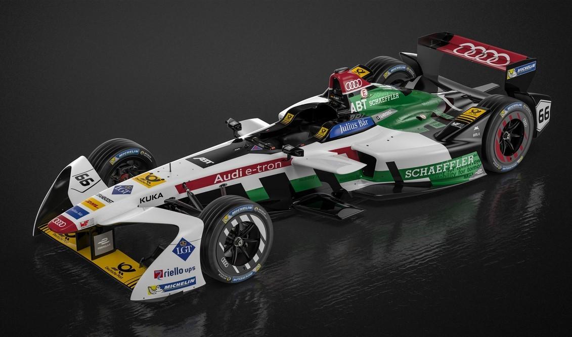 Audi E-tron FE04 Formula E Electric Racer Revealed For New