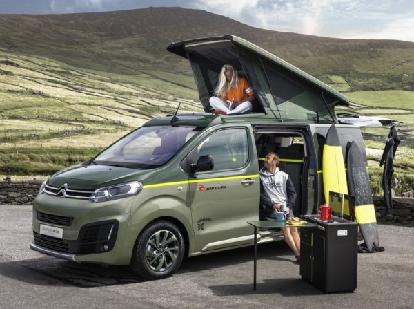 Citroen SpaceTourer Rip Curl 0 600x447 at Citroen SpaceTourer Rip Curl Concept IAA 2017