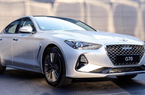 Genesis G70 1 550x360 at 2018 Genesis G70 Sports Sedan Revealed