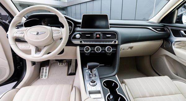 Genesis G70 2 600x326 at 2018 Genesis G70 Sports Sedan Revealed
