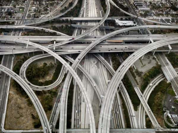 Judge Harry Pregerson Interchange LA 600x450 at 9 Fascinating Road Junctions Across the World