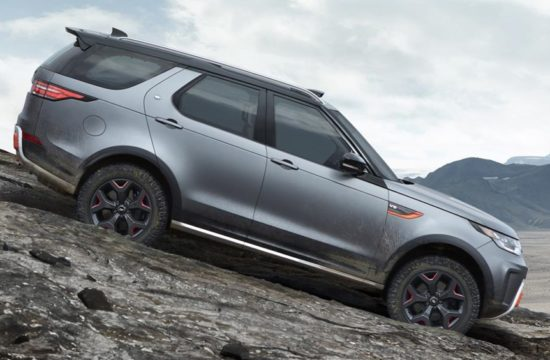 Land Rover Discovery SVX 0 550x360 at Land Rover Discovery SVX Revealed with 525 hp