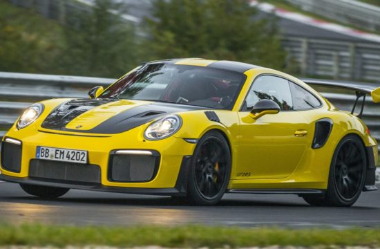 Porsche 911 GT2 RS Nurburgring lap 1 550x360 at 2018 Porsche 911 GT2 RS Nurburgring Record Is In: 6:47.3