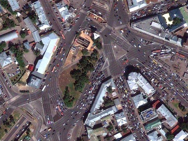Taganskaya Square Moscow 600x450 at 9 Fascinating Road Junctions Across the World