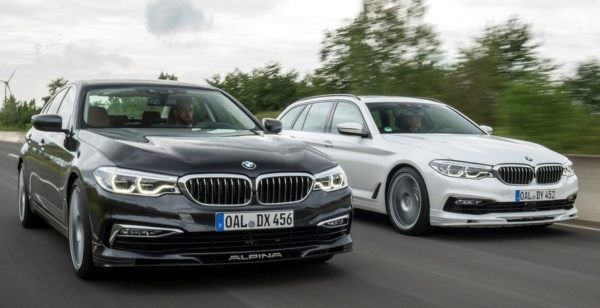 alpina d5 s 600x308 at 2018 BMW Alpina D5 S Diesel