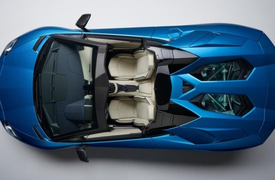 aventador s roadster 550x360 at 2018 Lamborghini Aventador S Roadster Revealed