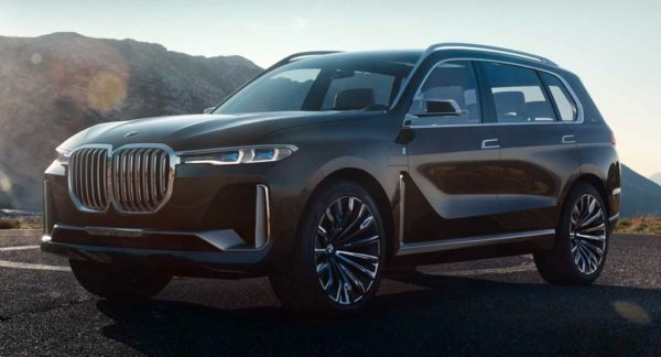 bmw x7 concept 0 600x324 at BMW Concept X7 iPerformance Revealed Ahead of IAA