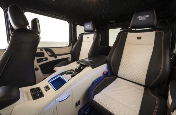 brabus 900 g65 int 600x394 at Brabus Mercedes AMG G65 with 888 Horsepower!