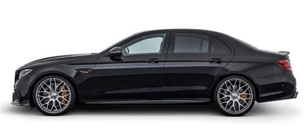 brabus e63 700 2 600x273 at 700 hp Brabus Mercedes AMG E63 S Revealed
