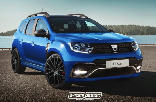 dacia duster gt render 550x360 at Dacia Duster GT Could and Should Happen