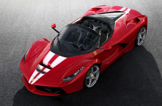 laferrari aperta charity auction 0 550x360 at Special LaFerrari Aperta Sells for 8.3 million EUR at Auction