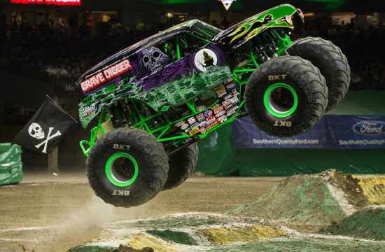 monster truck 1 550x360 at Monster Trucks   Passion for Off Road Adventure