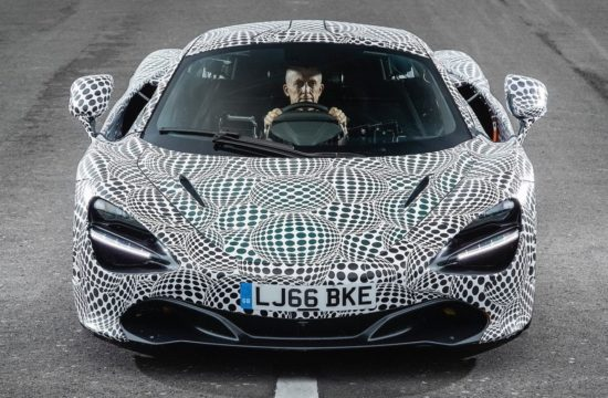 new mclaren f1 prototype 1 550x360 at New McLaren F1 (P1 Successor) Revealed in Prototype Form