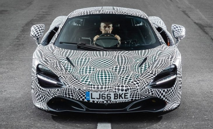 new mclaren f1 prototype 1 730x442 at New McLaren F1 (P1 Successor) Revealed in Prototype Form