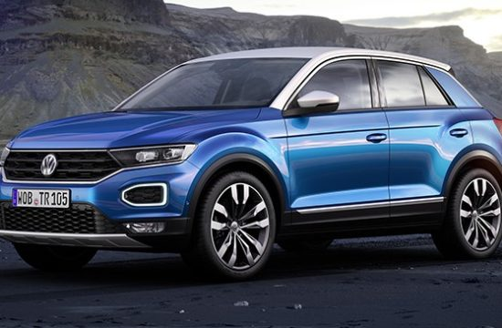 vw t roc 2018 550x360 at 2018 VW T Roc Crossover   Price and Specs