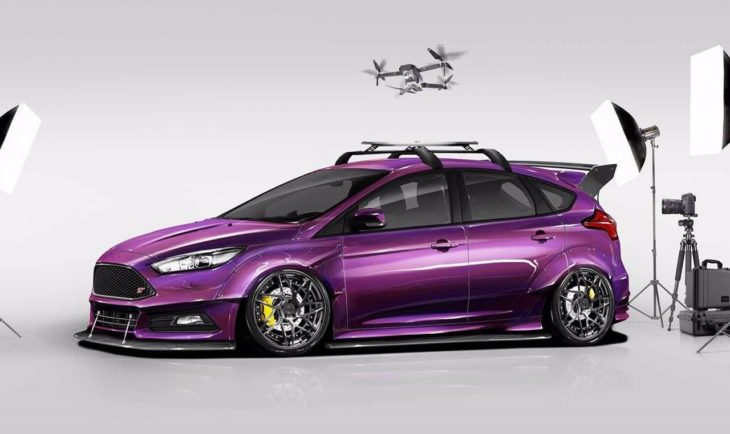 2017 Ford Focus ST created by Blood Type Racing 730x434 at SEMA 2017: Ford Focus ST by Blood Type Racing