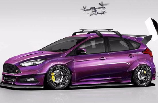 2017 Ford Focus ST created by Blood Type Racing top 550x360 at SEMA 2017: Ford Focus ST by Blood Type Racing