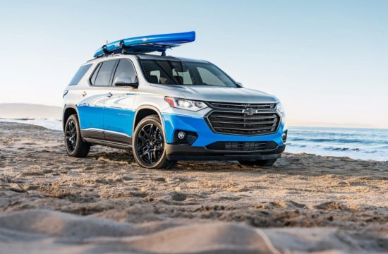 2017 SEMA Chevrolet Traverse SUP 001 550x360 at 2018 Chevrolet Traverse SUP Concept