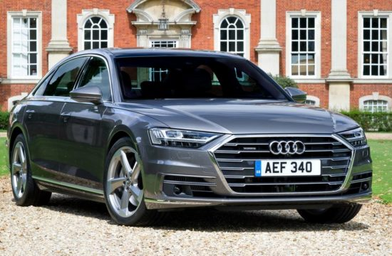 2018 Audi A8 UK 0 550x360 at 2018 Audi A8 (UK Spec) Priced from £69,100