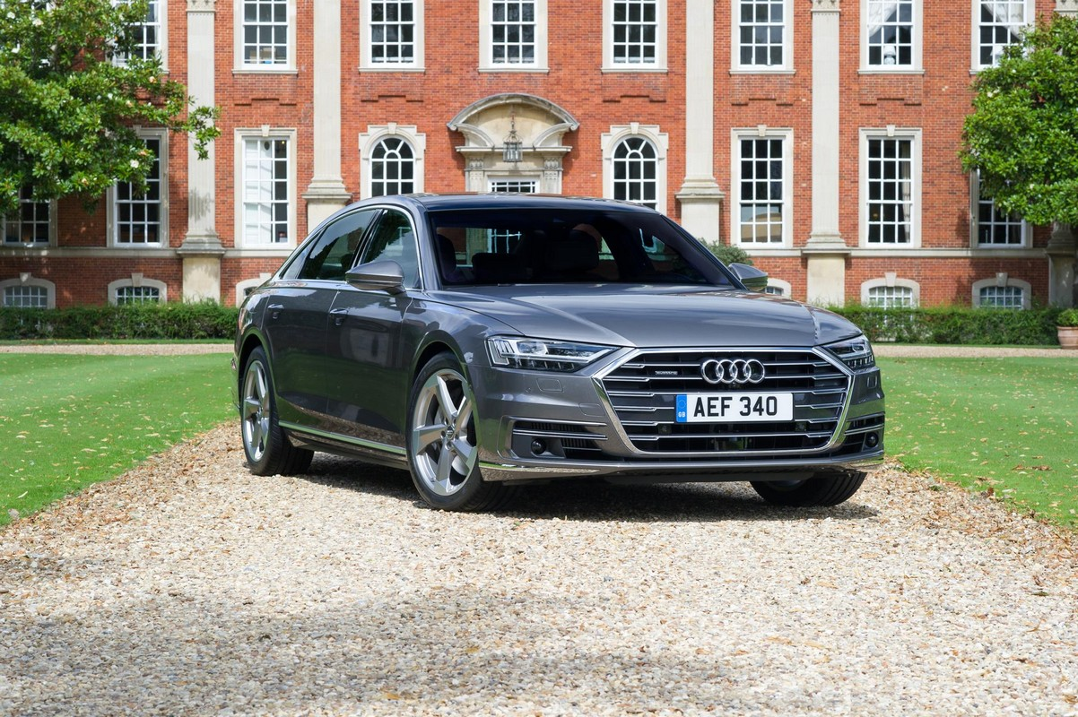 2018 audi a8 uk spec priced from 69 100. Black Bedroom Furniture Sets. Home Design Ideas