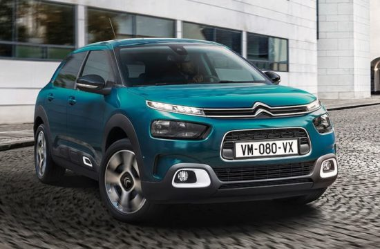 2018 Citroen C4 Cactus 1 550x360 at 2018 Citroen C4 Cactus Is an Ultra Comfortable Hatchback