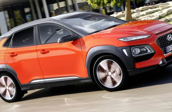 2018 Hyundai Kona UK 1 550x360 at 2018 Hyundai Kona Priced from £16,195 in the UK