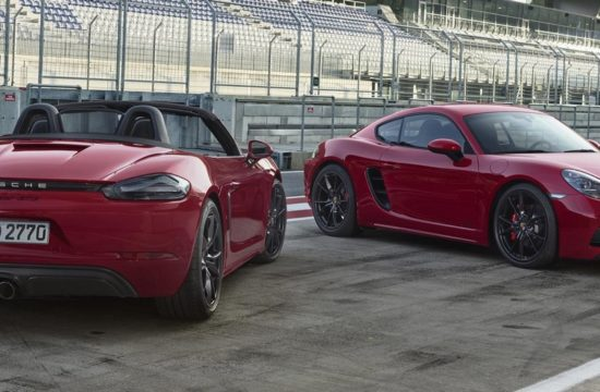 2018 Porsche 718 GTS 00 550x360 at Official: 2018 Porsche 718 GTS Cayman & Boxster