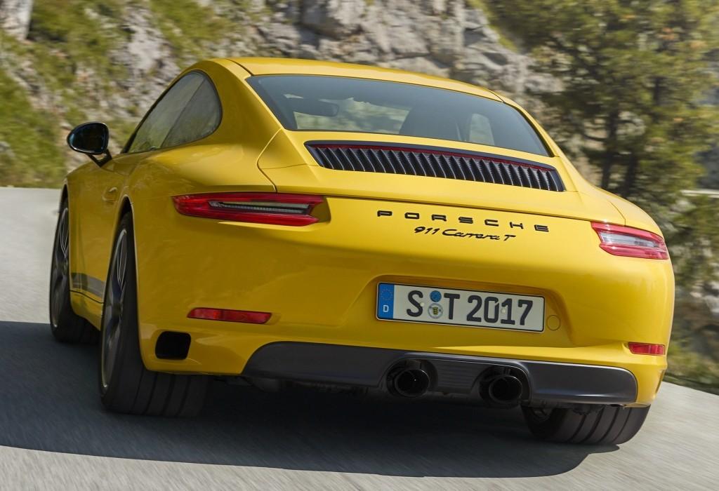 2018 porsche 911 carrera t back to basics for driving fun. Black Bedroom Furniture Sets. Home Design Ideas
