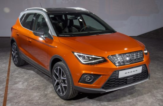 2018 SEAT Arona 550x360 at 2018 SEAT Arona Crossover Priced from £16,555 in UK