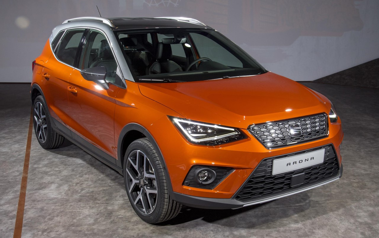 2018 seat arona crossover priced from 16 555 in uk. Black Bedroom Furniture Sets. Home Design Ideas