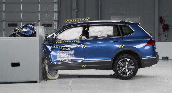 2018 VW Tiguan crash test 2 730x395 at 2018 VW Tiguan Named IIHS Top Safety Pick