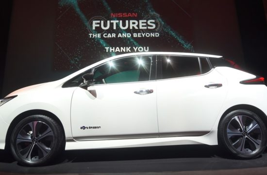 426206415 Nissan unveils electric ecosystem at Nissan Futures 3 0 550x360 at 2018 Nissan LEAF Makes European Debut at Futures 3.0 Conference