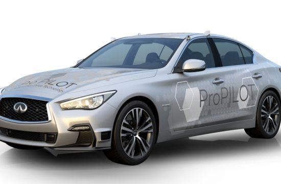 Autonomous Infiniti Q50 1 550x360 at Nissan Testing Next Gen ProPILOT with Autonomous Infiniti Q50