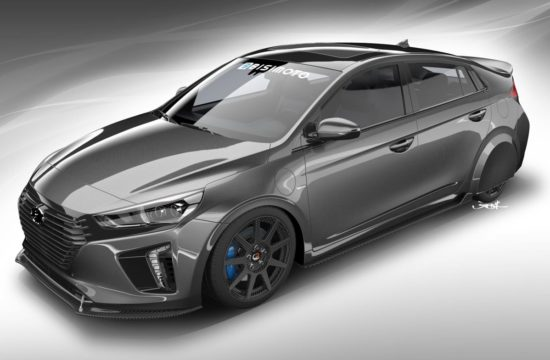 BISIMOTO ENGINEERING TO CREATE HYPERECONIQ IONIQ 550x360 at Bisimoto HyperEconiq Ioniq Gets Ready for SEMA 2017