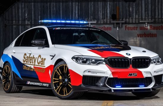 BMW M5 MotoGP Safety Car 5 550x360 at BMW M5 MotoGP Safety Car Revealed for 2018 Season
