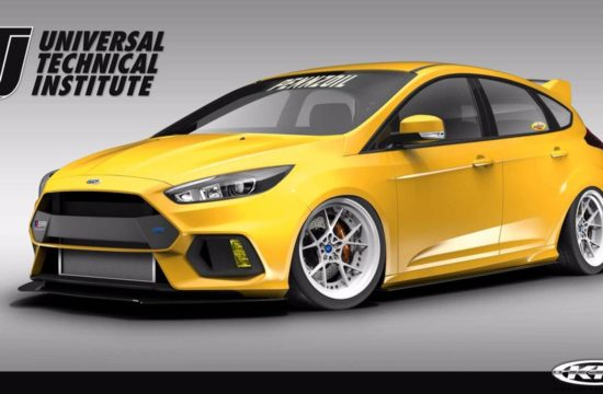 Ford Focus RS by Pennzoil 1 550x360 at SEMA 2017: Ford Focus RS by UTI, Tjin, and Pennzoil
