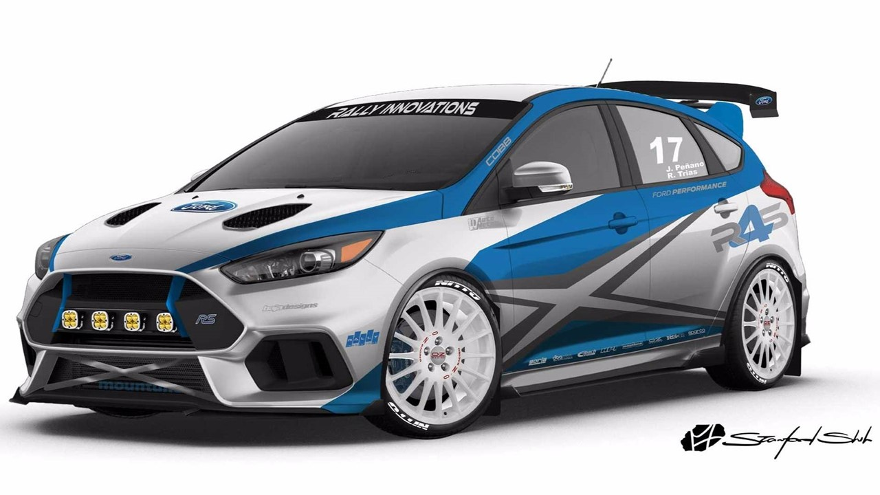 Ford Escape 2014 Custom >> SEMA 2017: Ford Focus RS by Rally Innovations