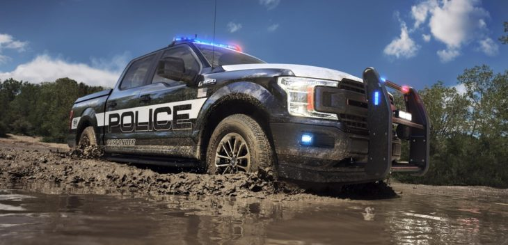 Ford Hybrid Police Cars 00 730x352 at Ford Hybrid Police Cars (Fusion and F 150) Get Their Badges