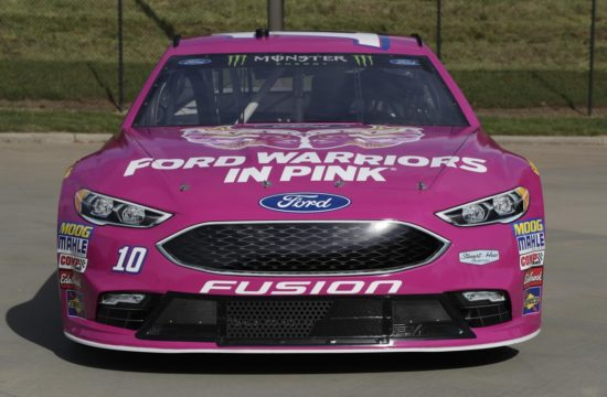 Ford Warriors in Pink Fusion 0 550x360 at Danica Patrick Fights Breast Cancer in Ford Warriors in Pink Fusion